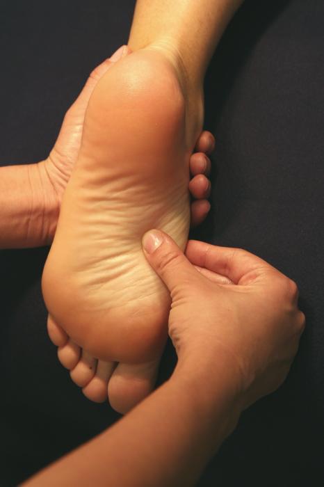 Gommage pour les pieds à la framboise