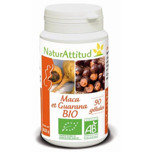maca guarana bio 90 gélules naturattitud