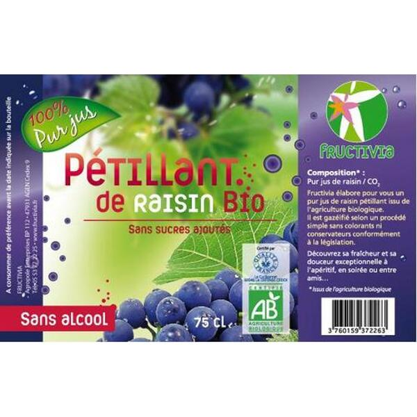 pétillant raisin