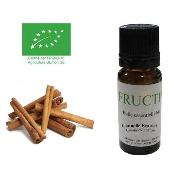 huile essentielle cannelle écorce bio fructivia