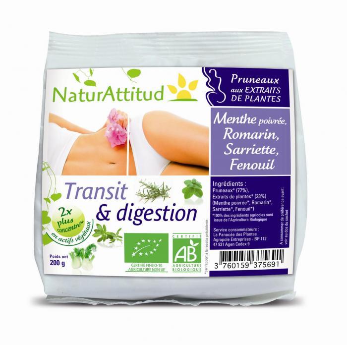 Pruneaux transit et digestion bio - Naturattitud
