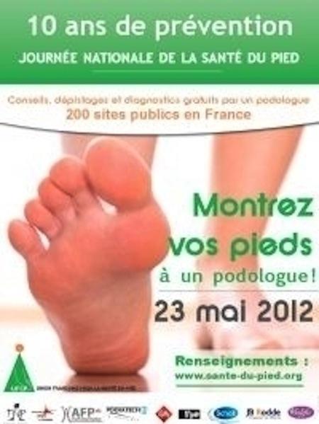 Journée nationale de la santé des pieds