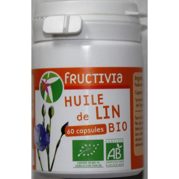 capsule huile de lin bio