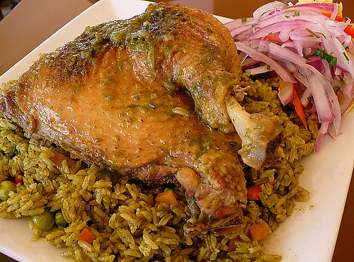 canard au riz