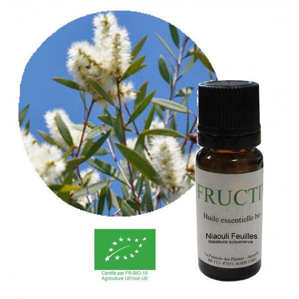 Huile essentielle Bio Fructivia : Niaouli feuilles
