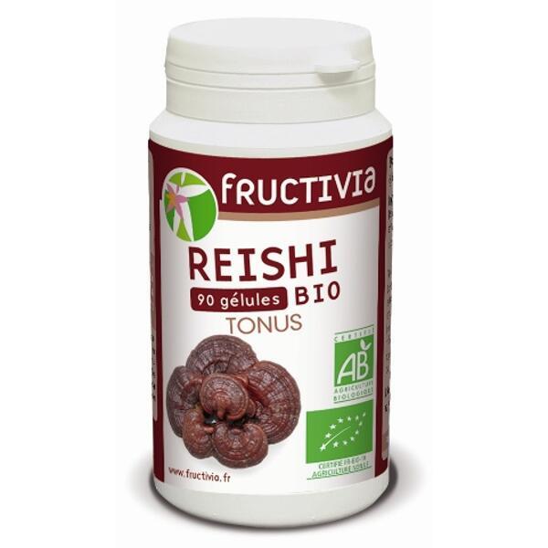 gélules reishi bio fructivia
