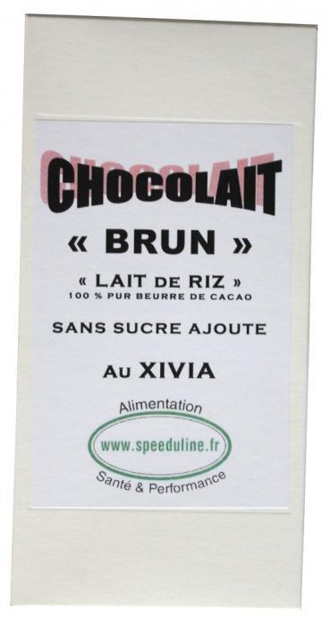 chocolat brun au xylitol
