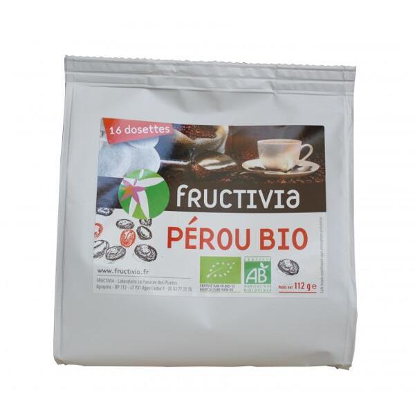 Café Perou bio - fructivia 16 dosettes