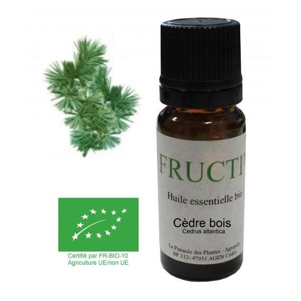 Cèdre bois bio - huile essentielle bio - 10 ml