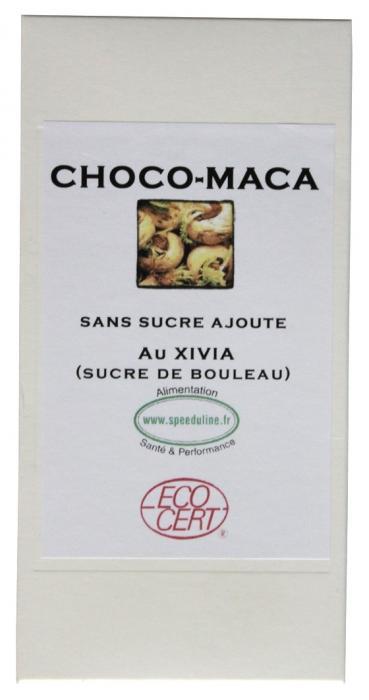 Chocolat Xylitol et Maca speeduline choco maca