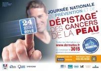 Journée nationale de prévention et de dépistage des cancers de la peau - 24 mai 2012