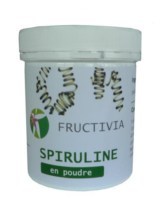 spiruline poudre fructivia