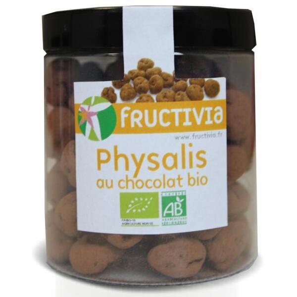 Physalis au chocolat bio (pot 150 g) - fructivia