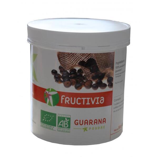 Guarana poudre bio fructivia 500g