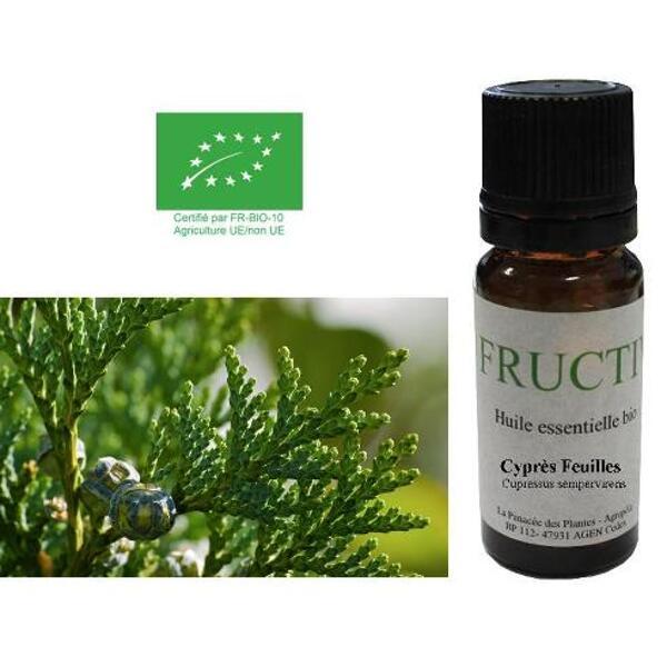 huile essentielle cyprès bio fructivia