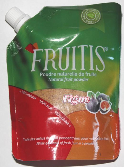 Poudre naturelle de figue Fruitis