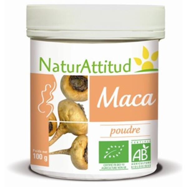 Maca bio - poudre 100 g - naturattitud