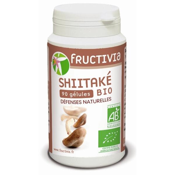 gélules shiitaké bio fructivia