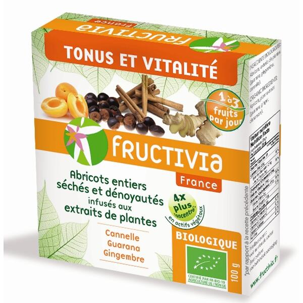 Abricots tonus et vitalite* bio (100g) - fructivia