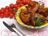 bouillabaisse de lapin bio à la canneberge