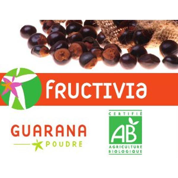 Guarana poudre FRUCTIVIA