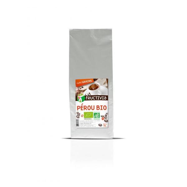 Café Pérou Bio en grains (1kg) - Fructivia