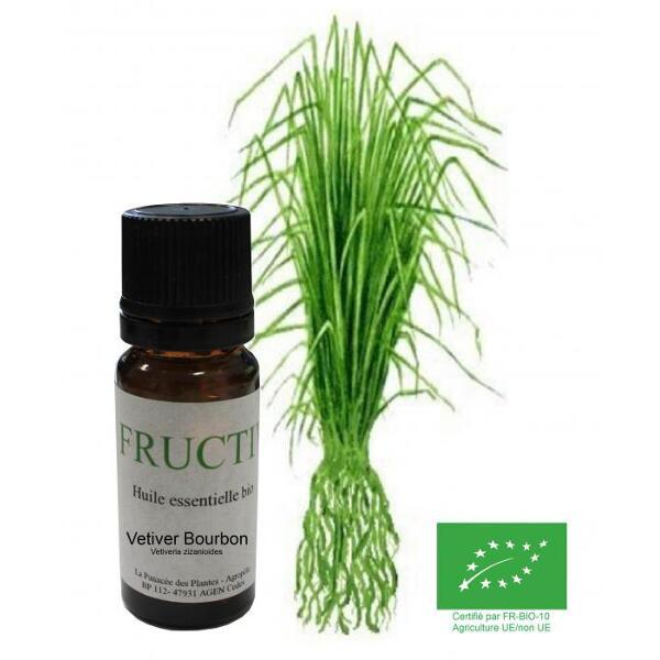 Vetiver bio - huile essentielle bio - 10 ml