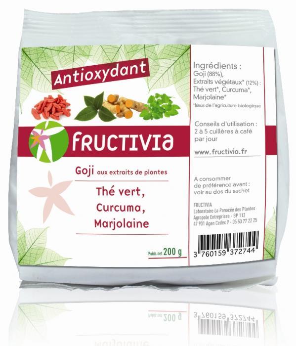 Fruit santé goji antioxydant