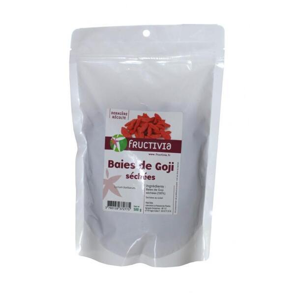 Baies de goji séchées fructivia