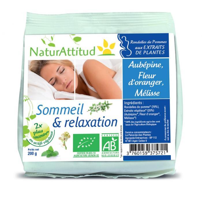 Pommes Sommeil et Relaxation Bio - NaturAttitud