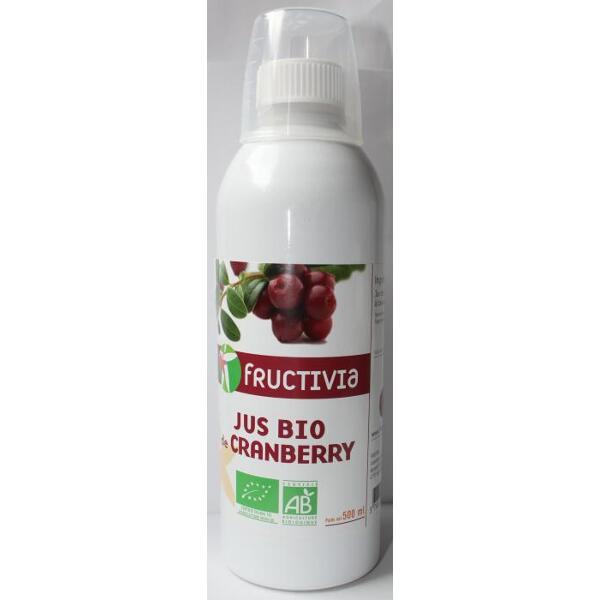 jus de cranberry bio - 500 ml