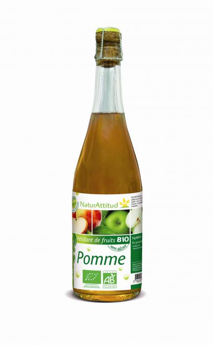 PETILLANT DE POMME BIO (75 cl) - NATURATTITUD