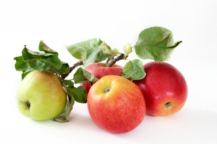 Préparation de la pomme