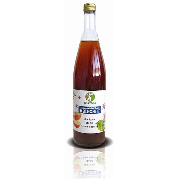 Cocktail plantes et fruits bio - relaxant (75 cl)