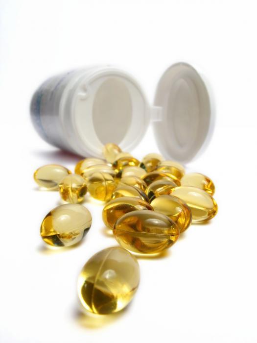 Compléments alimentaires omega-3