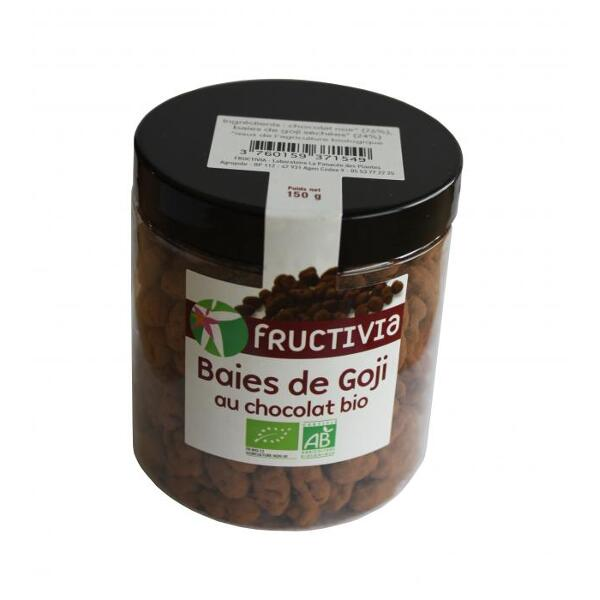 Baies de goji au chocolat bio - fructivia