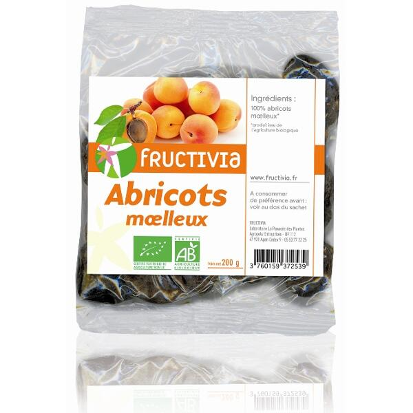 abricots moelleux bio fructivia