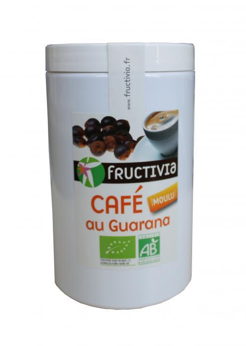 Café moulu bio au guarana - Fructivia