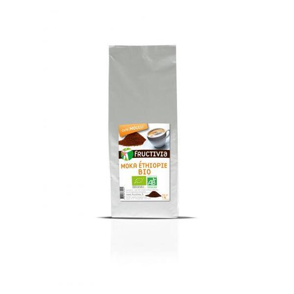 Café moulu Moka Ethiopie Bio (1kg) - Fructivia