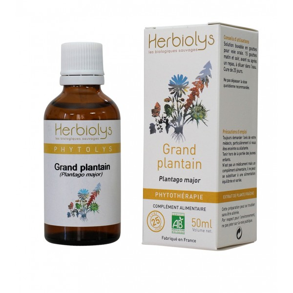 Grand plantain bio herbiolys 50ml