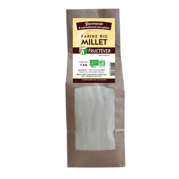 Farine de Millet jaune Bio 1kg
