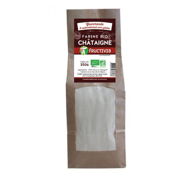 Farine de Chataigne Bio sans Gluten