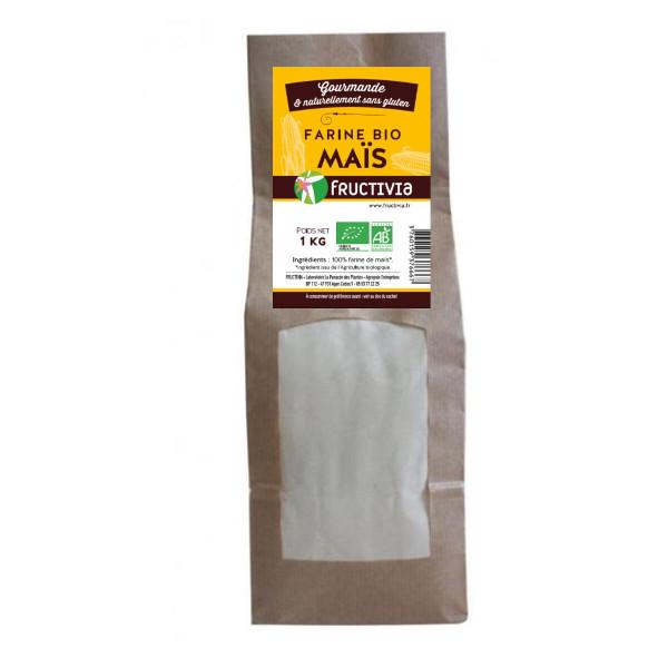 Farine de Maïs Bio 1kg