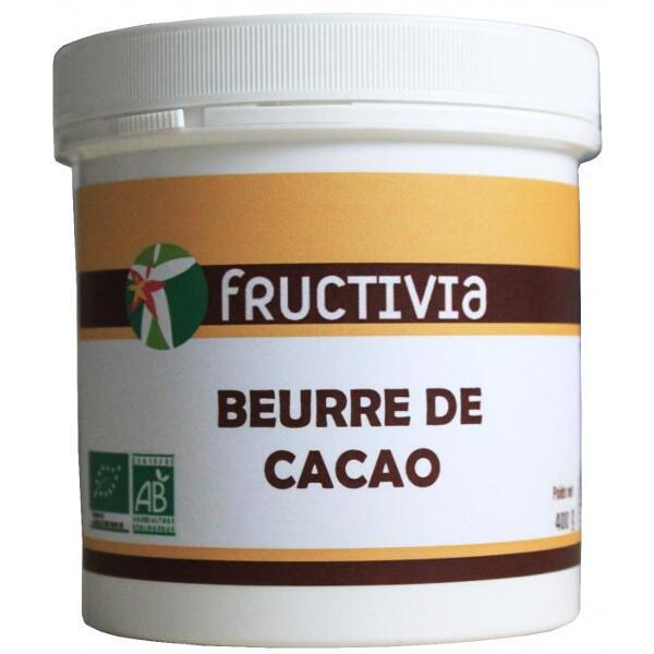 Beurre de cacao cru bio* 400g