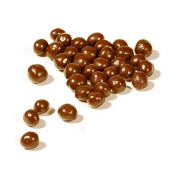 Cristaux d'huile essentielle de cannelle bio enrobés de chocolat au lait bio