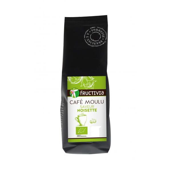Café moulu saveur noisette bio* 125g