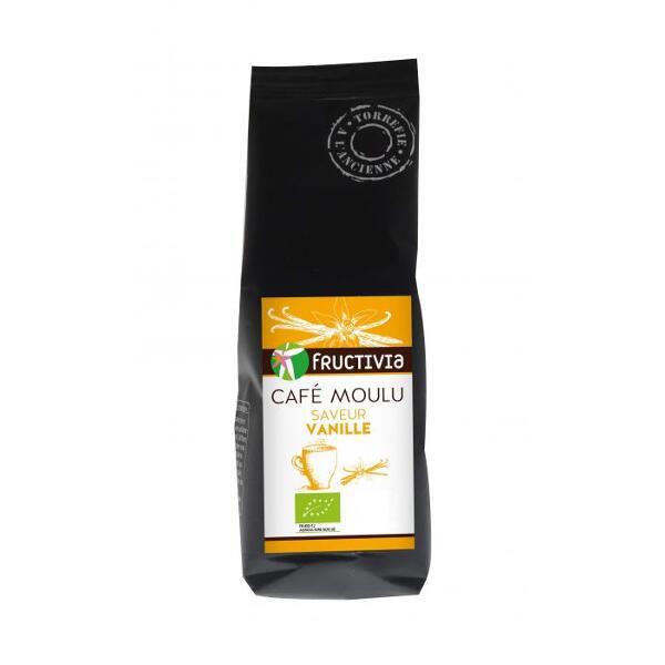 Café moulu saveur vanille bio* 125g