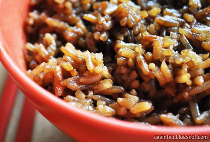 Canard braisé au riz
