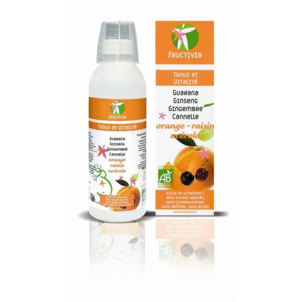 Cure Tonus et vitalité BIO Fructivia