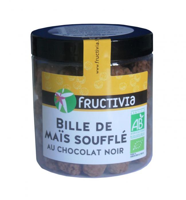 billes maïs soufflées au chocolat bio